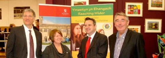 Minister Huw Lewis