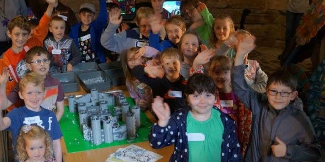 LEGO Pack Your Imagination Campaign at Caernarfon Castle