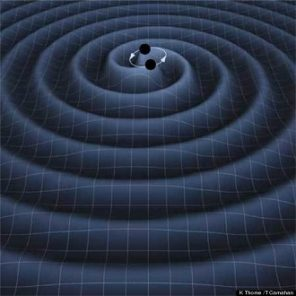 Gravity Waves from two Black Holes