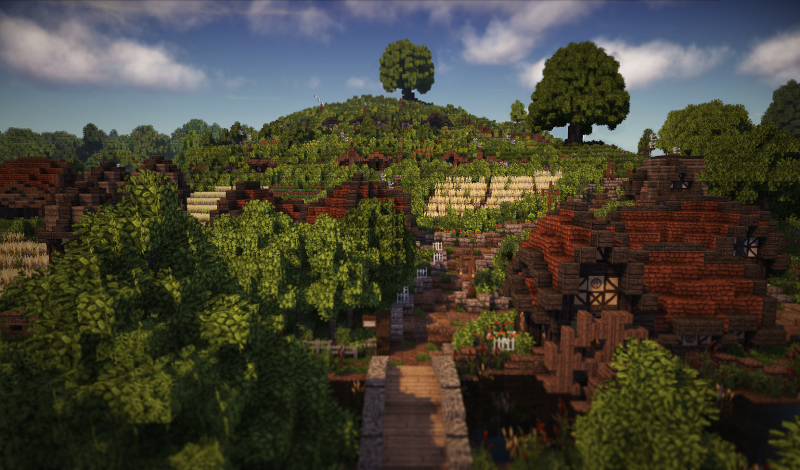 Minecraft The Shire